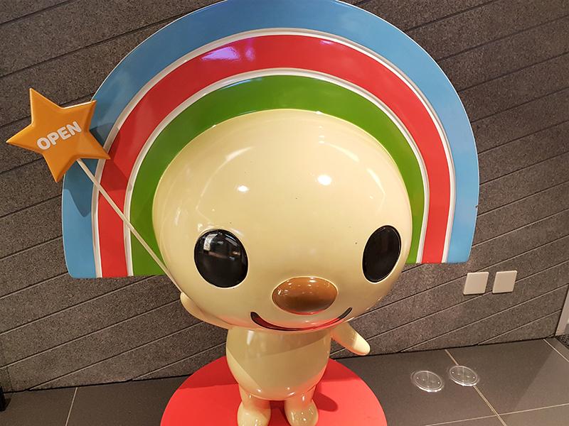 台湾セブンイレブンのマスコットOPENちゃん