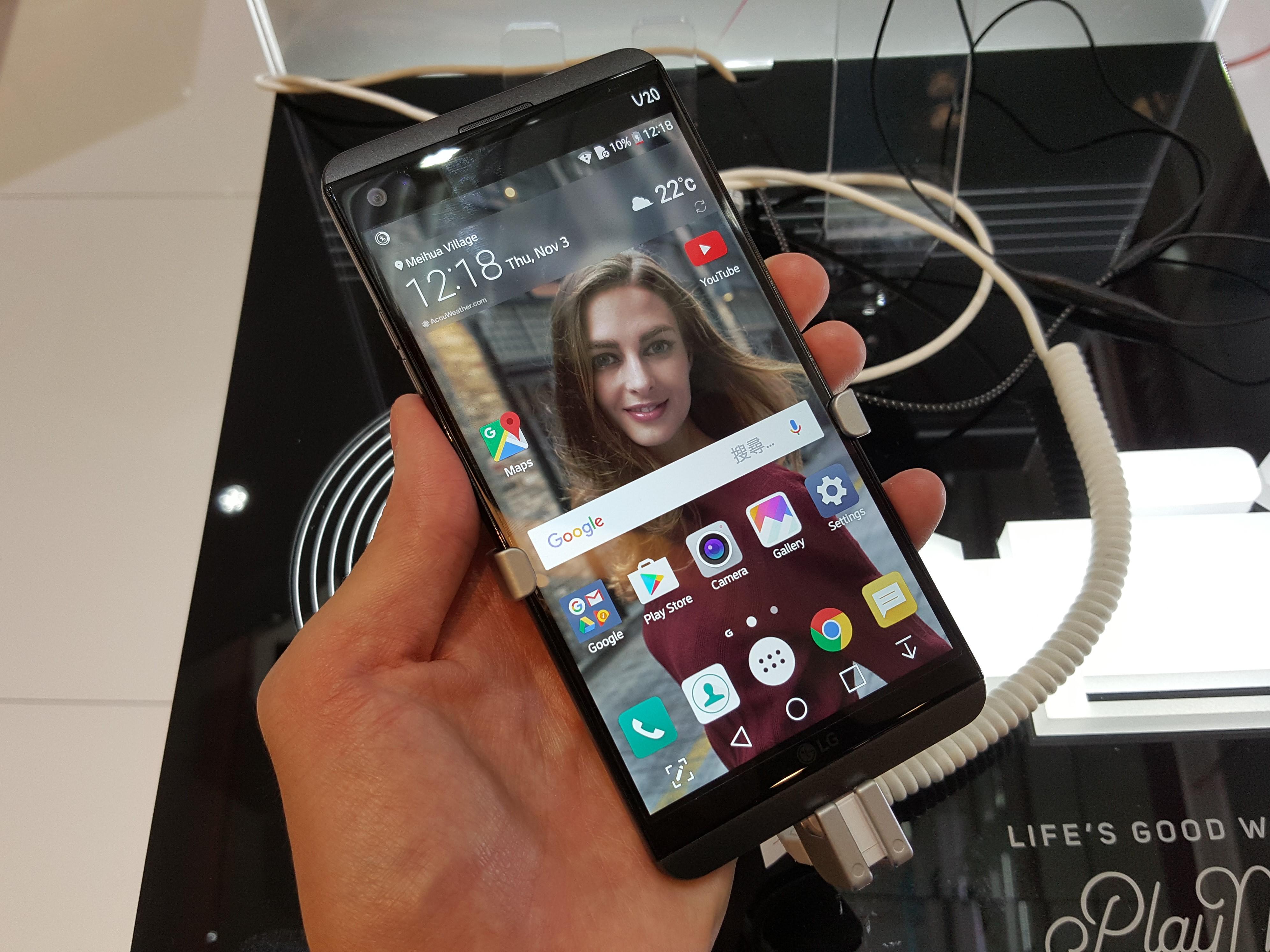 1ShopMobile.comでLG V20 LG-H990Nの取扱いがスタート