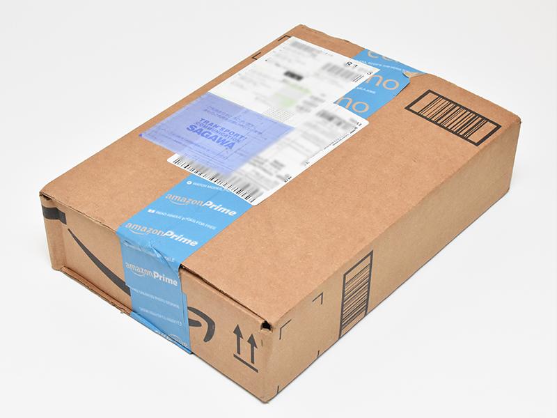Amazon.comから届いた荷物