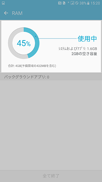 Samsung Galaxy Note5 SM-N9208 ソフトウェア