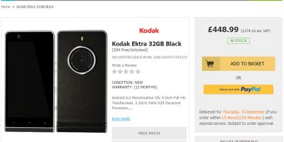 Handtec Kodak EKTRA 商品ページ