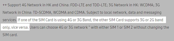 Galaxy J5 PrimeのDSDS対応状況