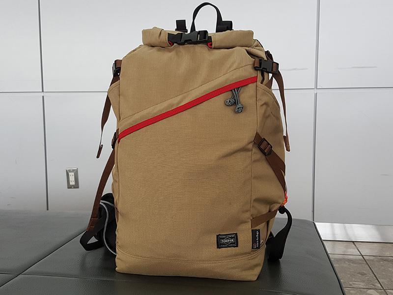 台北旅行の荷物