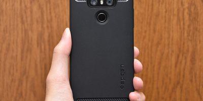 LG G6 Spigen ラギッドアーマー