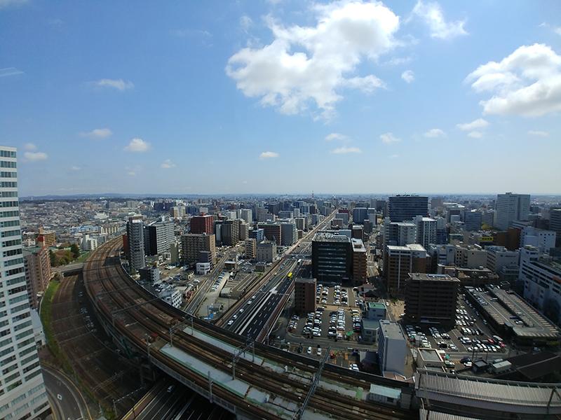 仙台駅東口(LG G6広角レンズ)