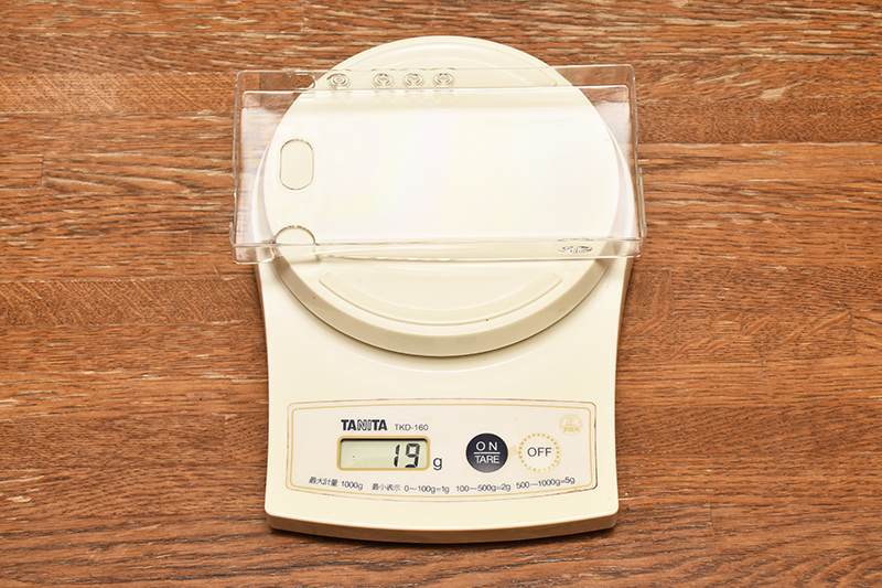 DPA-KCCMX1 重量