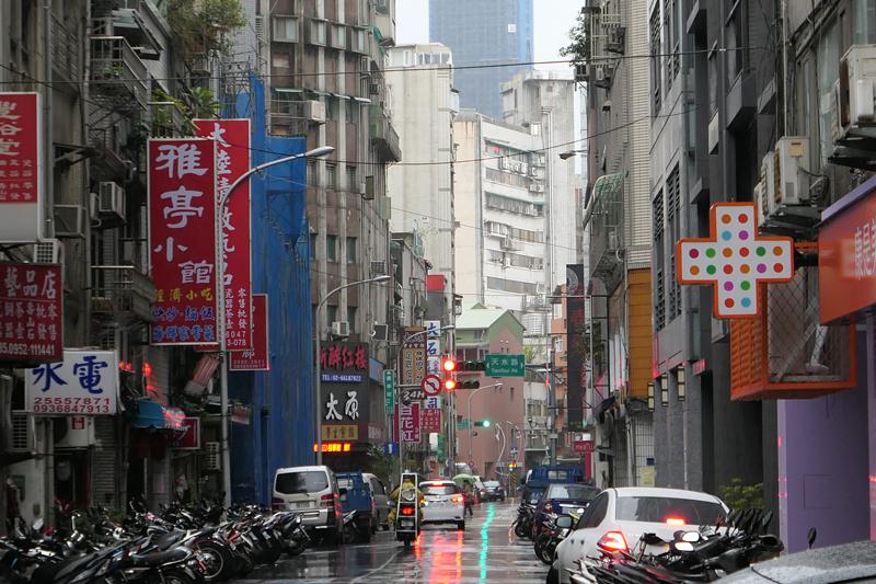 台北の街中