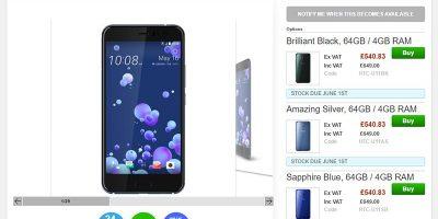 Clove HTC U11 商品ページ