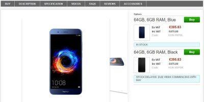 Clove Huawei Honor 8 Pro 商品ページ