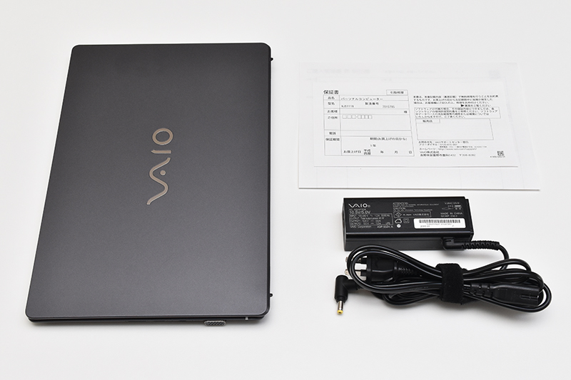 VAIO S11 バッテリー交換