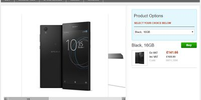 Clove Sony Xperia L1 商品ページ