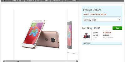 Clove Motorola Moto E4 商品ページ