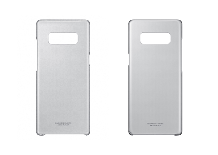 Samsung Galaxy Note8 Clear Protective Cover