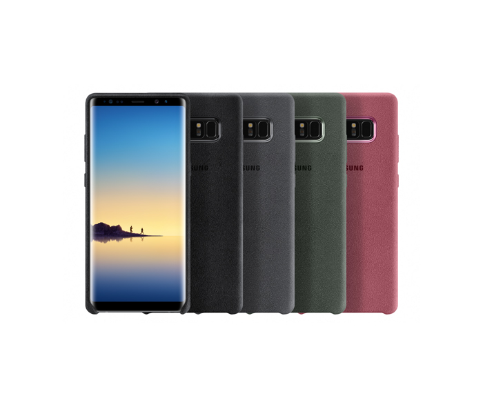 Samsung Galaxy Note8 Alcantara Cover
