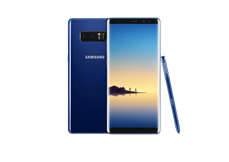 Samsung Galaxy Note8 Deepsea Blue