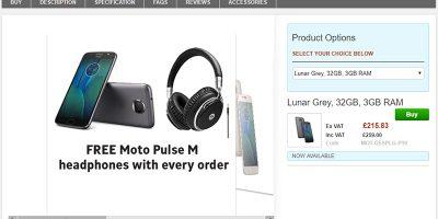 Clove Motorola Moto G5S Plus 商品ページ