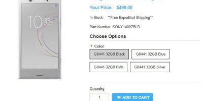 1ShopMobile.com Sony Xperia XZ1 Compact 商品ページ