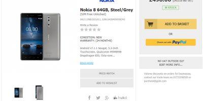 Handtec Nokia 8 商品ページ