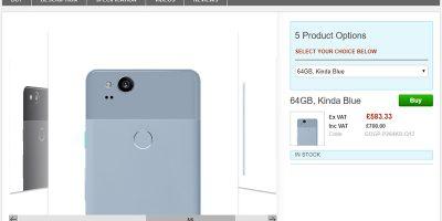 Clove Google Pixel 2 商品ページ