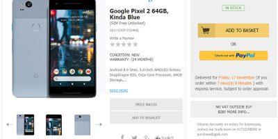 Handtec Google Pixel 2 商品ページ