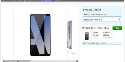 Clove Huawei Mate 10 Pro 商品ページ