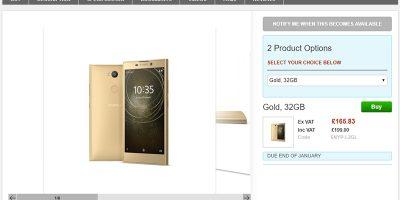 Clove Sony Xperia L2 商品ページ