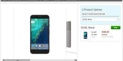 Clove Google Pixel XL 商品ページ