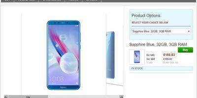 Clove Huawei Honor 9 lite 商品ページ