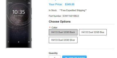 1ShopMobile.com Sony Xperia XA2 商品ページ