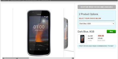 Clove Nokia 1 商品ページ