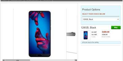 Clove Huawei P20 商品ページ