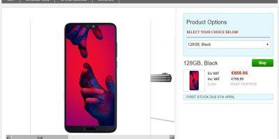 Clove Huawei P20 Pro 商品ページ