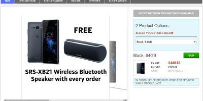 Clove Sony Xperia XZ2 Compact 商品ページ