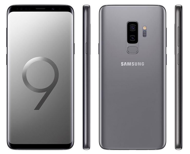 Samsung Galaxy S9+ Titanium Gray