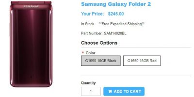 1ShopMobile.com Samsung Galaxy Folder2 商品ページ