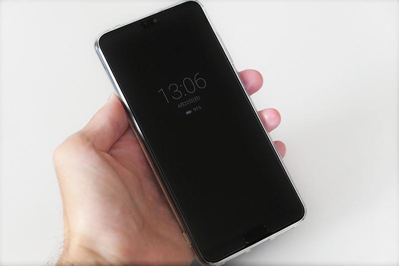 Huawei P20 ProのAOD機能
