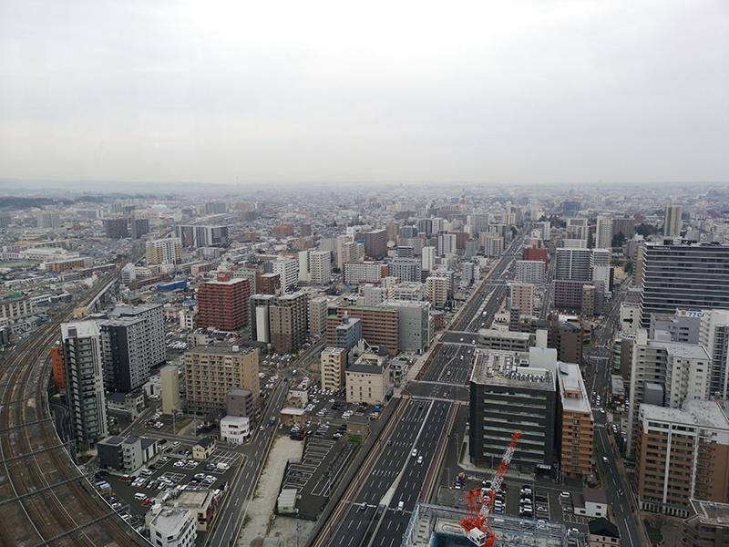 Huawei P20 Proで撮影した仙台駅東口