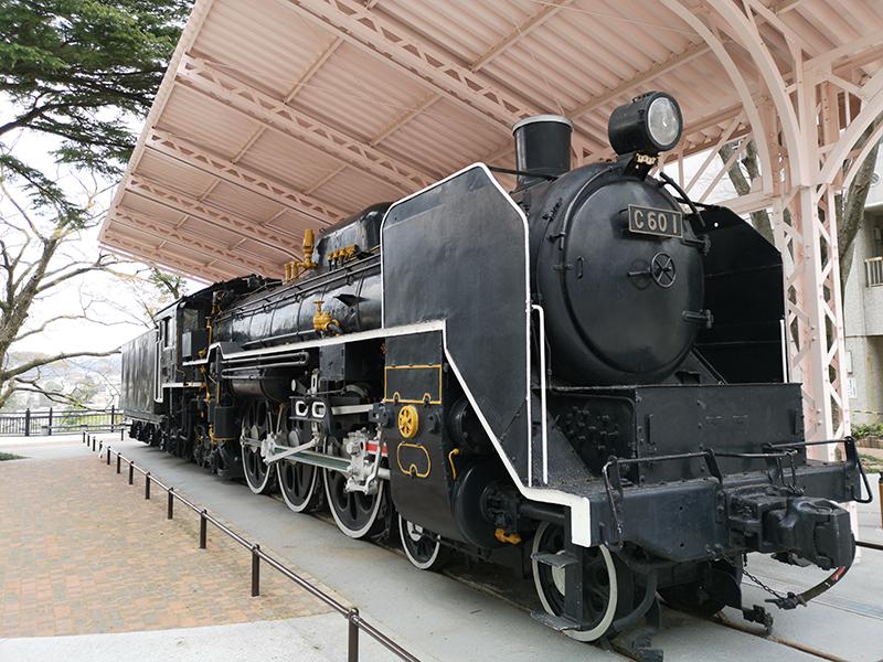 Huawei P20 Proで撮影した蒸気機関車