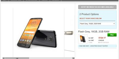 Clove Motorola Moto E5 Plus 商品ページ