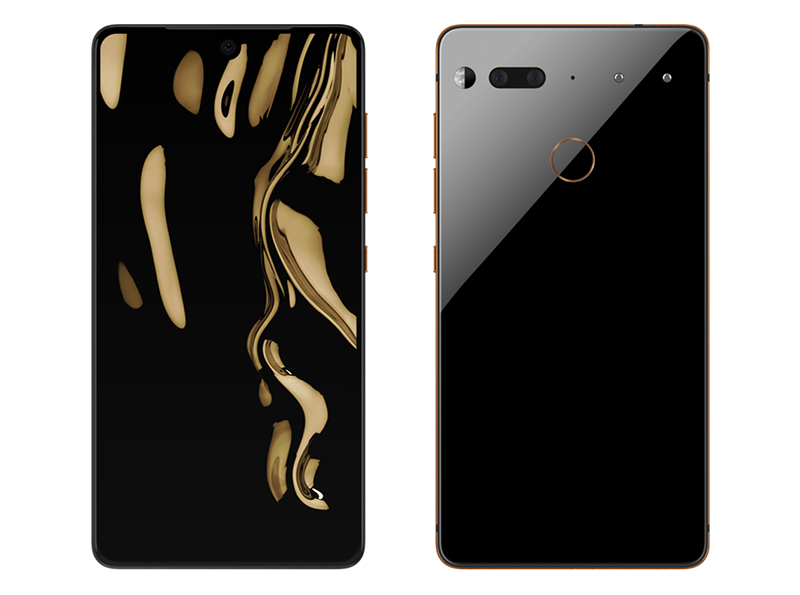 Essential Phone Copper Black