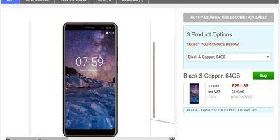 Clove Nokia 7 Plus 商品ページ