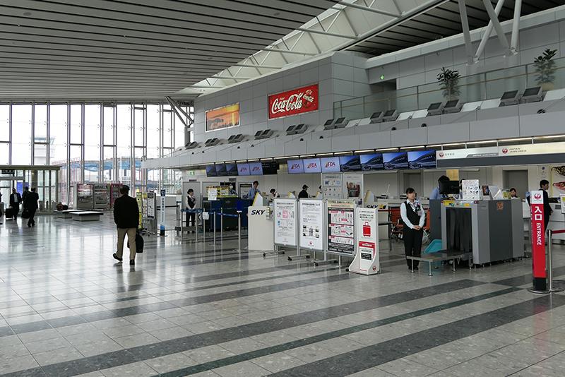 仙台国際空港のFDAカウンター