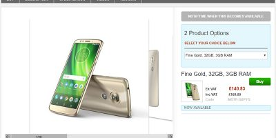 Clove Motorola Moto G6 Play 商品ページ