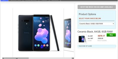 Clove HTC U12+ 商品ページ