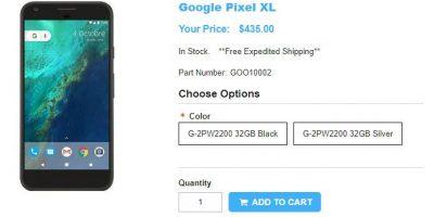 1ShopMobile.com Google Pixel XL 商品ページ