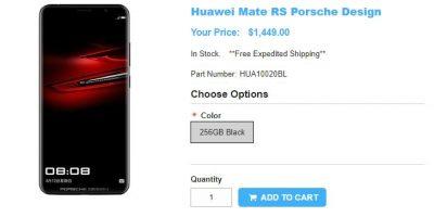 1ShopMobile.com Porcshe Design Huawei Mate RS 商品ページ
