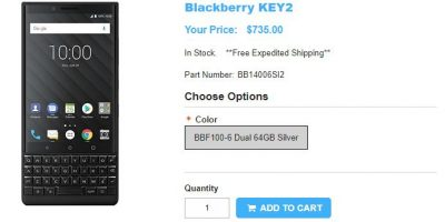 1ShopMobile.com BlackBerry KEY2 商品ページ