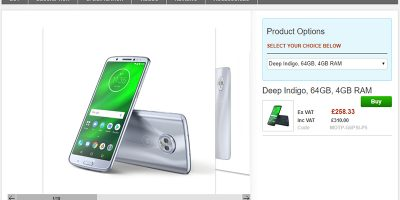Clove Motorola Moto G6 Plus 商品ページ