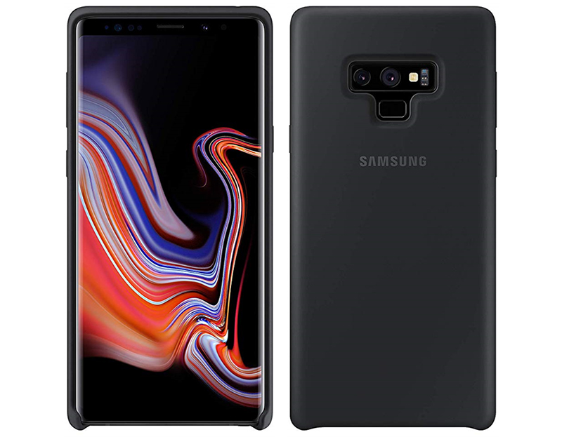 Samsung Galaxy Note9 Silicone Cover Black