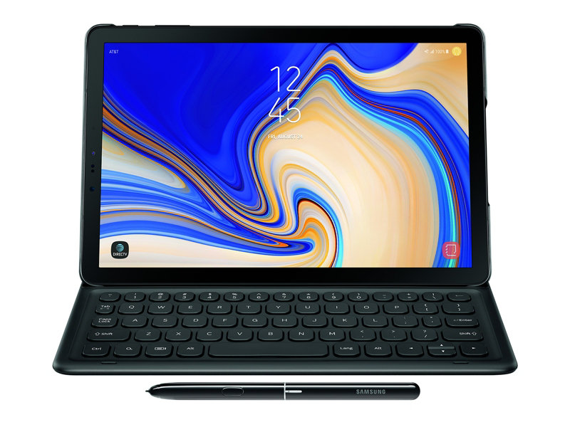Samsung Galaxy Tab S4 Book Cover Keyboard